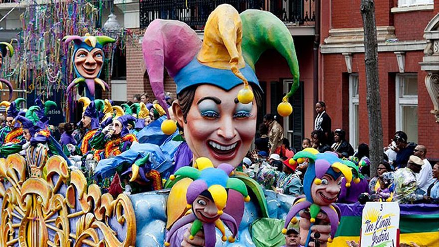 Carnaval Mardi Gras Nueva Orleans