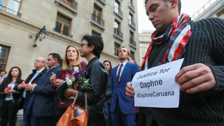 Malta detiene a 8 sospechosos del asesinato de la periodista Daphne Caruana