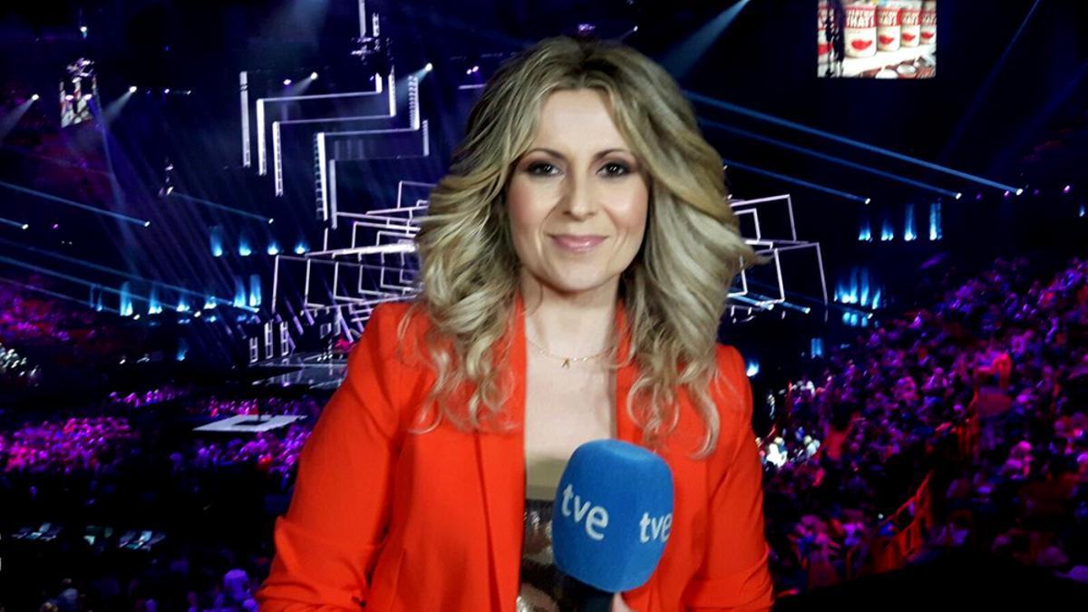 Eva Mora ha informado desde el Festival de Eurovisión en varias ediciones