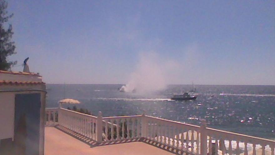 Del incendio de la embarcación #2