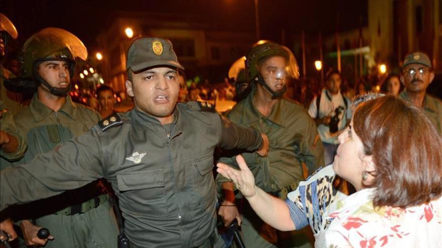 Imagen de archivo: La Policía reprime en Rabat una protesta del pasado julio/Efe