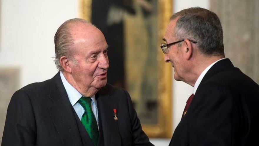 El rey Juan Carlos preside el acto de entrega del Premio Órdenes Españolas 2019
