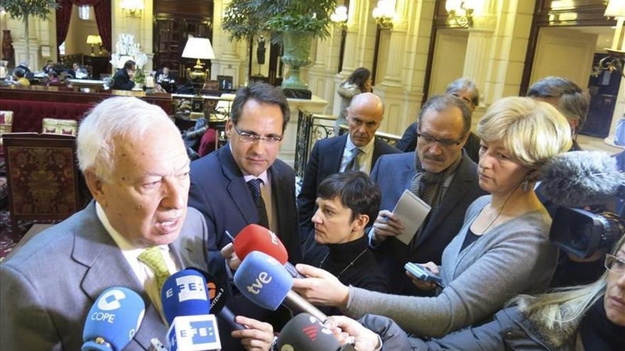 Margallo se reunirá mañana en Lisboa con Passos Coelho y su homólogo luso
