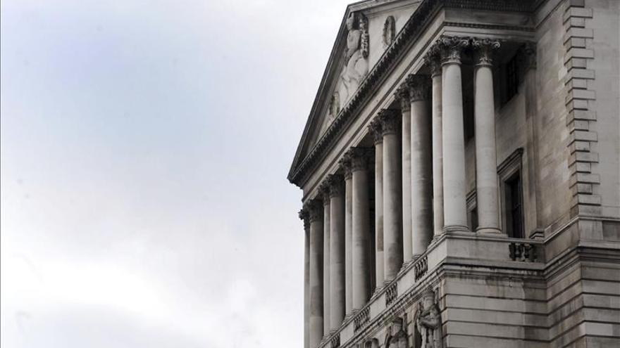 El Banco de Inglaterra sube al 1,6 por ciento la previsión de crecimiento del R.Unido