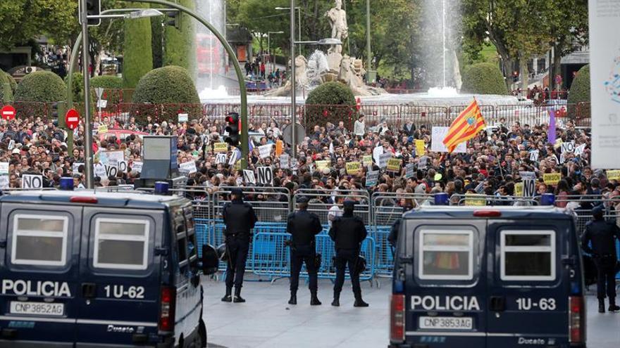 """El """"Rodea el Congreso"""" pone en un brete al grupo de Unidos Podemos"""