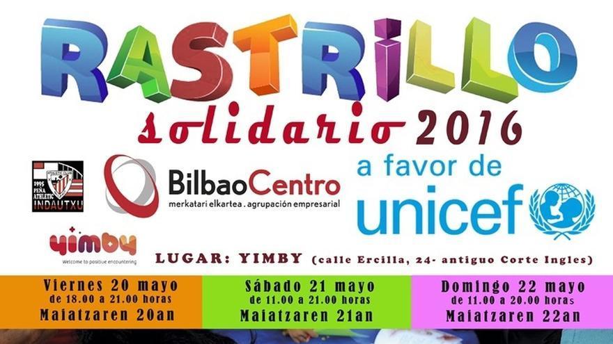 BilbaoCentro celebra este fin de semana el octavo rastrillo solidario, en beneficio de Unicef