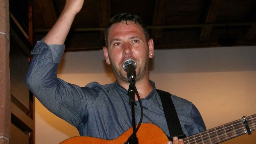 El músico Fran Ramos en un concierto.