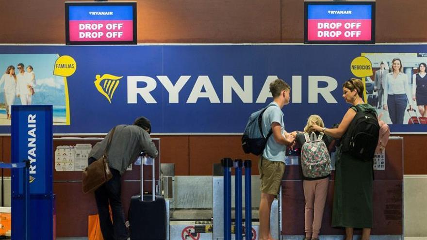 La huelga de Ryanair avanza sin incidencias y con servicios mínimos en España