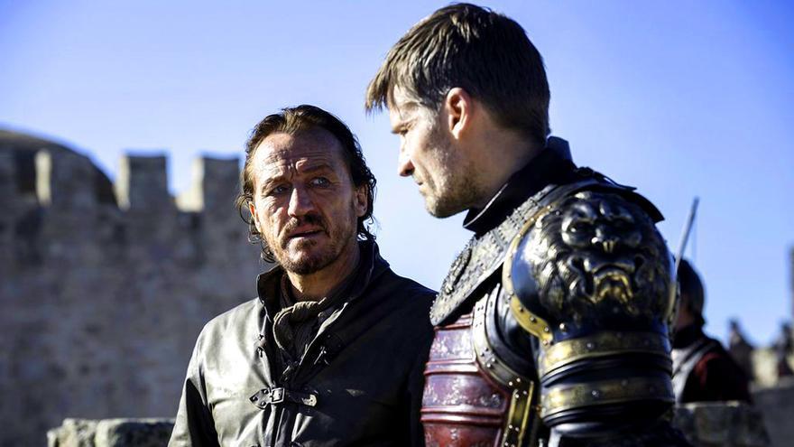 Bronn y Jaime Lannister en Juego de Tronos