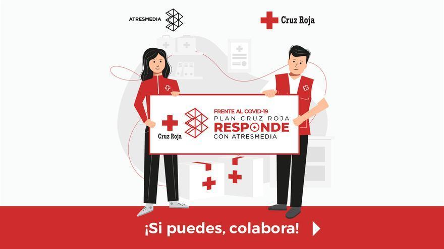 Atresmedia se suma a la iniciativa 'Cruz Roja Responde' para luchar contra el coronavirus