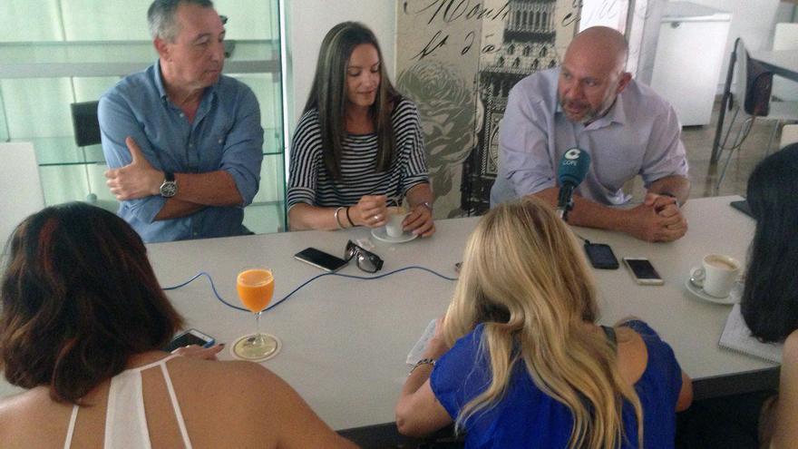 Joan Baldoví, Àngela Ballester y Ricardo Sixto hacen balance de la campaña electoral