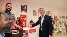 """Ángel Víctor Torres: """"Estamos dando el primer paso para un Gobierno de Canarias liderado por el PSOE en 2019"""""""