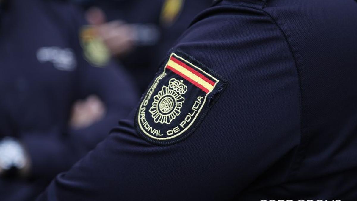 Un agente de Policía Nacional en una imagen de archivo