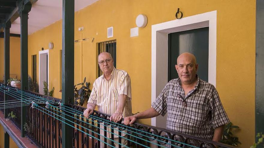 Antonio Romeral y Rafael Olmo, fundadores de 'Yo no me voy' / OLMO CALVO