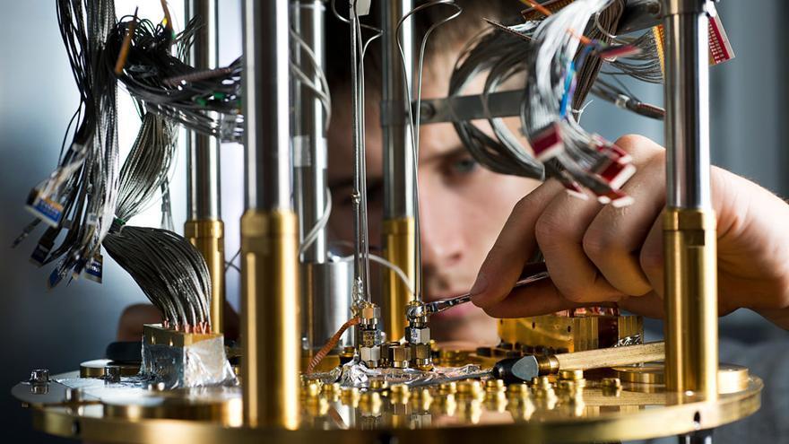 ordenadores cuanticos en Carne Cruda - Foto de D-Wave Systems Inc.