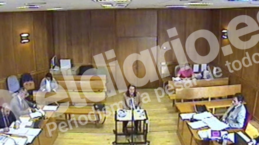 Declaración de Alicia Pérez de los Mozos por el caso Cifuentes