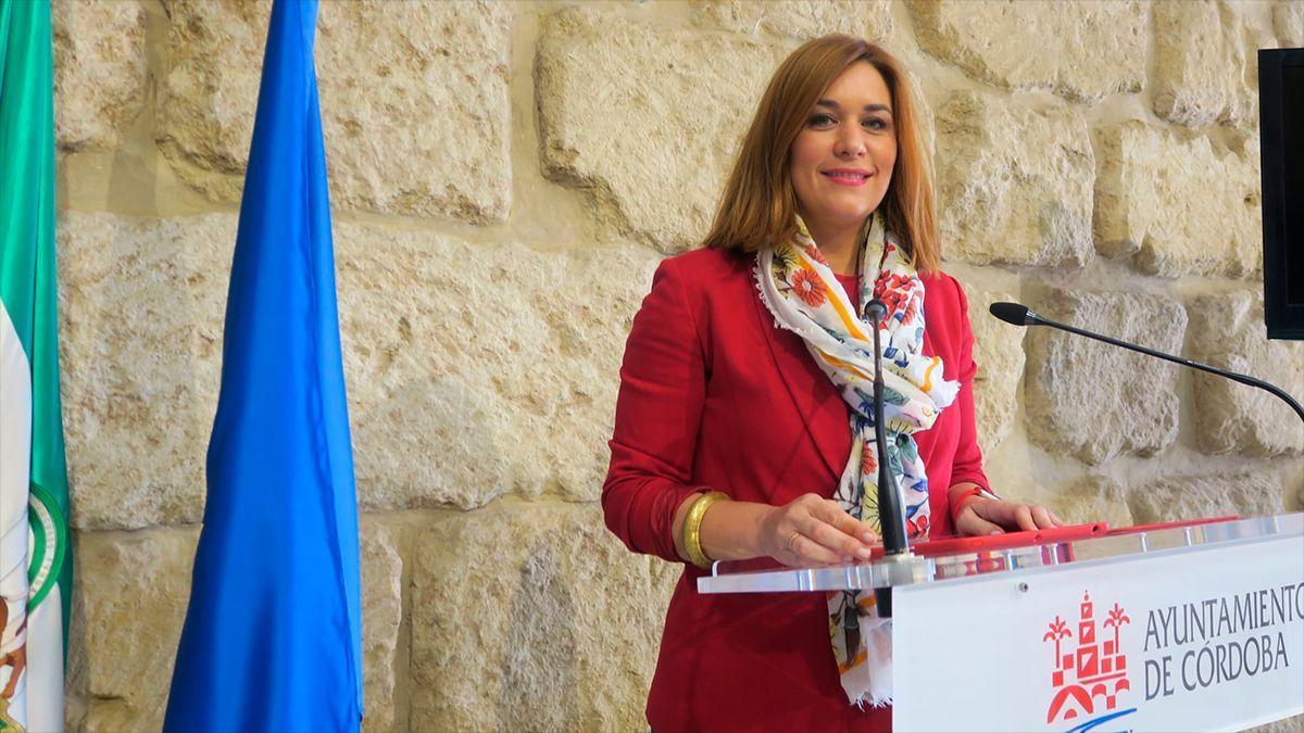 La concejala del PSOE, Carmen Victoria Campos.