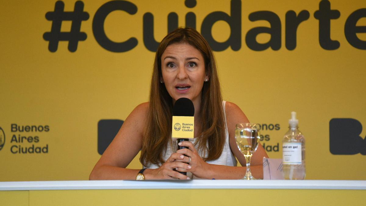 La ministra de Educación porteña, Soledad Acuña