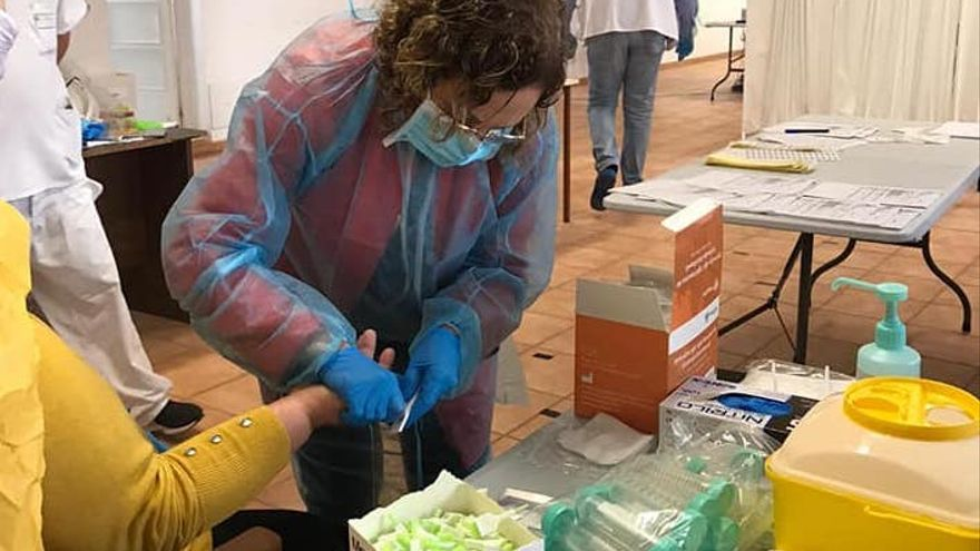 Sanidad realiza de nuevo pruebas PCR en los centros sociosanitarios de La Palma