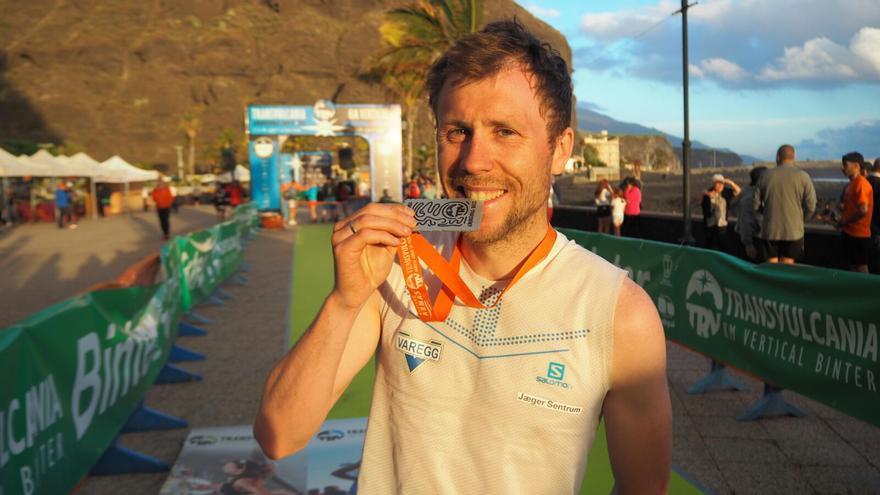 Stian Angermund venció en categoría masculina. Foto: JOSÉ AYUT.