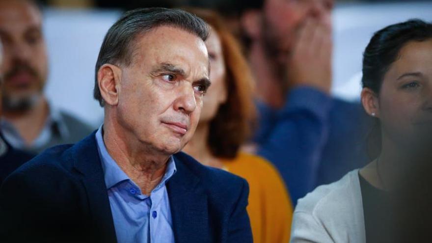 En la imagen, el candidato a vicepresidente por el oficialista Juntos por el Cambio, Miguel Ángel Pichetto.