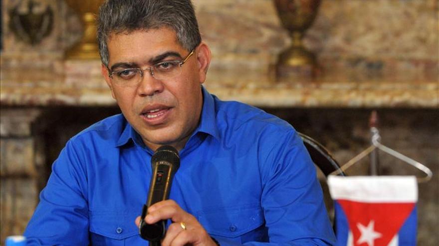 Jaua, en La Habana para consultar con Chávez asuntos de política exterior