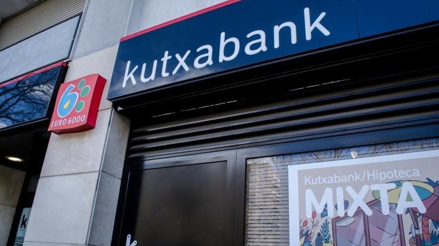 Oficina de Kutxabank.