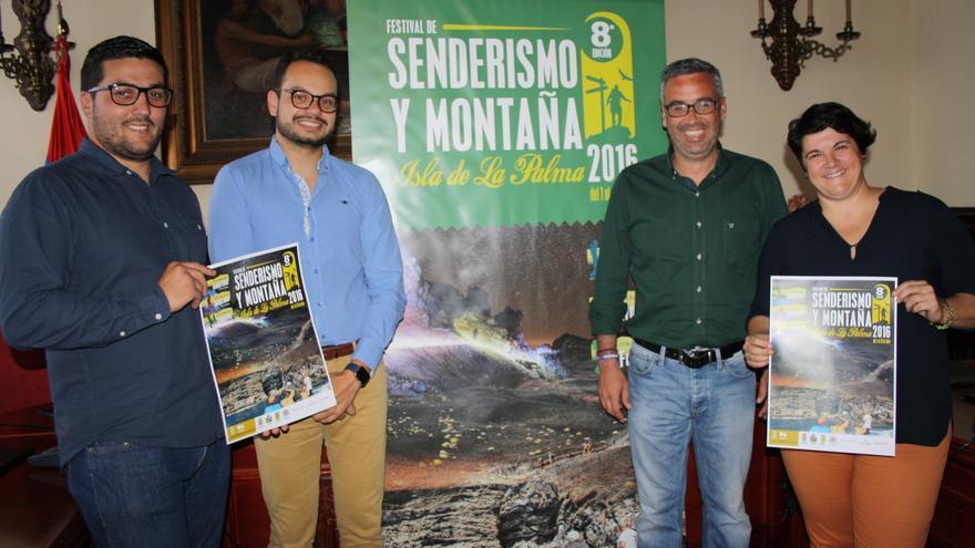 Raico Arrocha, Jordi Pérez, Sergio Matos y Ascensión Rodríguez.