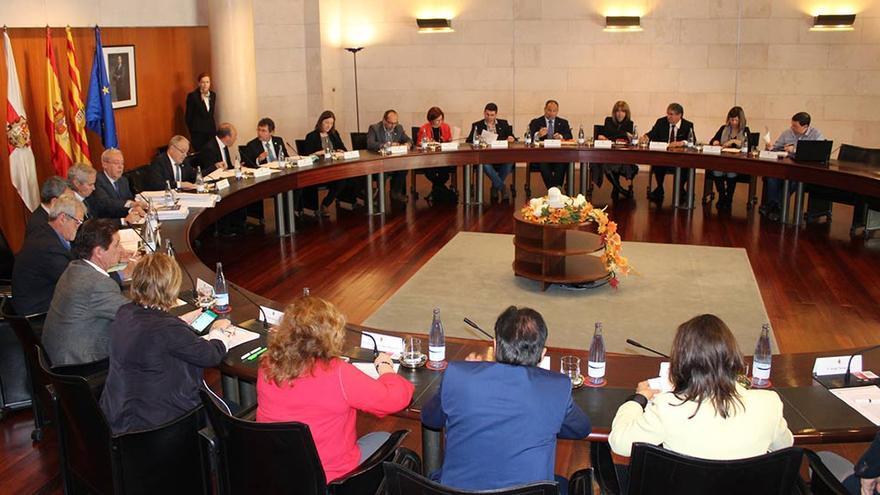 Pleno de la Diputación Provincial de Huesca