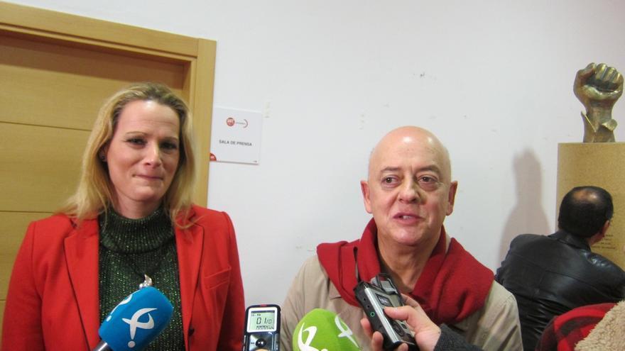 """Elorza y Cantera apoyan en Mérida la creación de la Plataforma """"Recuperemos el PSOE"""" de Extremadura"""