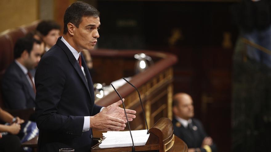 """Sánchez admite que """"no es sencillo"""" el pacto con Podemos pero pide un esfuerzo porque """"merece la pena"""""""