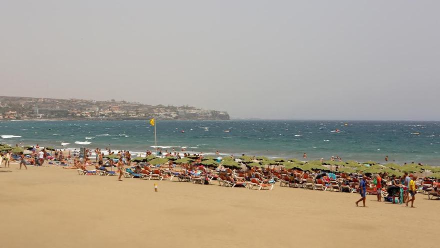 Playa del Inglés. (ALEJANDRO RAMOS)