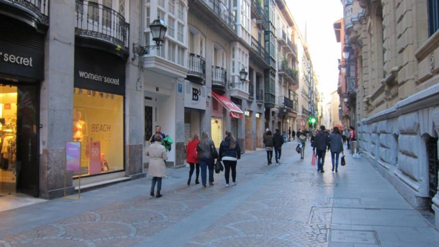 Alrededor de 70 establecimientos comerciales del Casco Viejo de Bilbao  abrirán los días festivos de Semana Santa