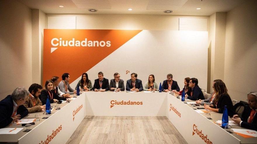 Cargos autonómicos de Ciudadanos se muestran satisfechos con la composición de la Gestora del partido
