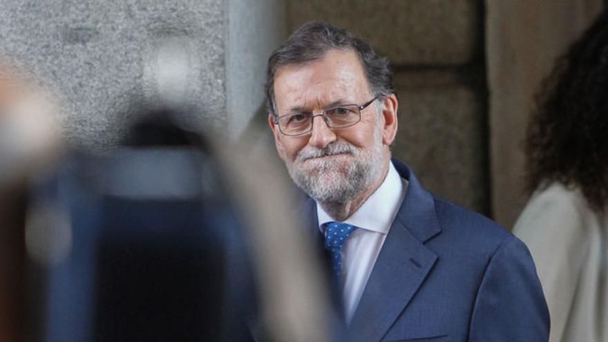 Mariano Rajoy, presidente español del PP