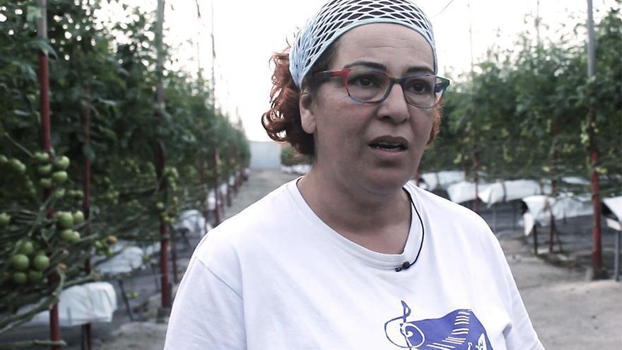 Laura Martín, agricultora aldeana.