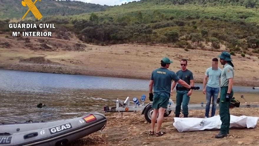 Rescate ahogado Cijara