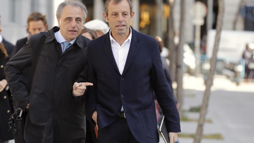 Rosell denuncia la diferencia de trato respecto a Pujol, González o Villar