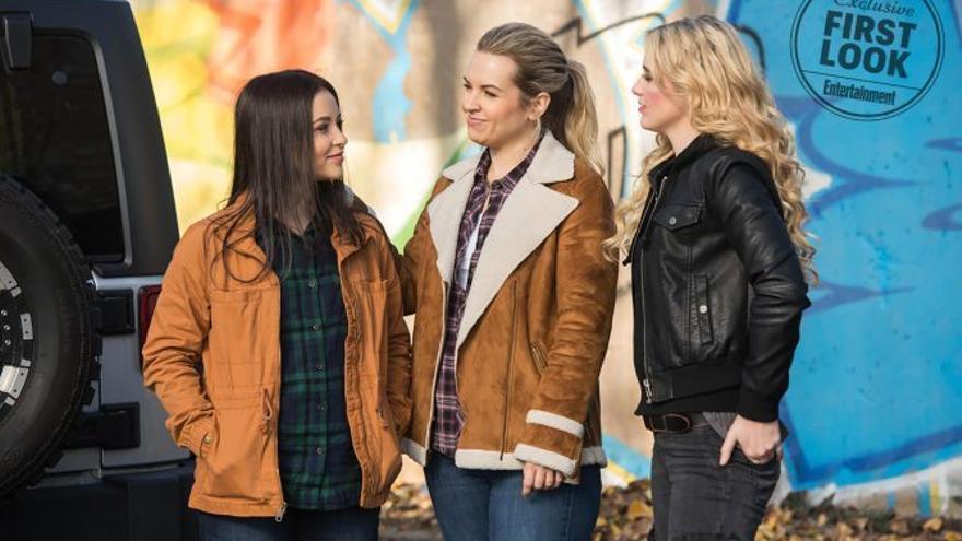 Primeras imágenes del spin-off de Supernatural, Wayward Sisters
