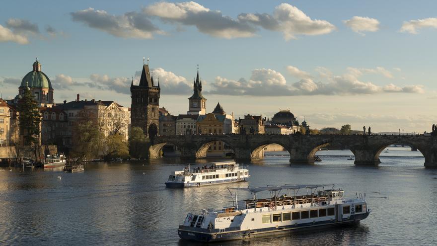 El puente de Carlos, en Praga