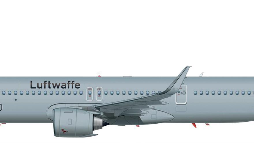 A321LR de la Luftwafe.