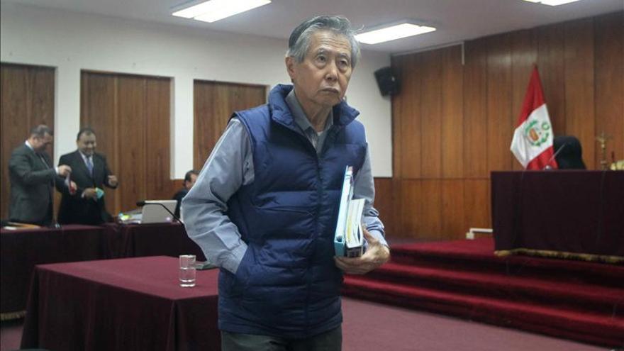 Fujimori dará sus argumentos a tribunal para cumplir su sentencia en casa