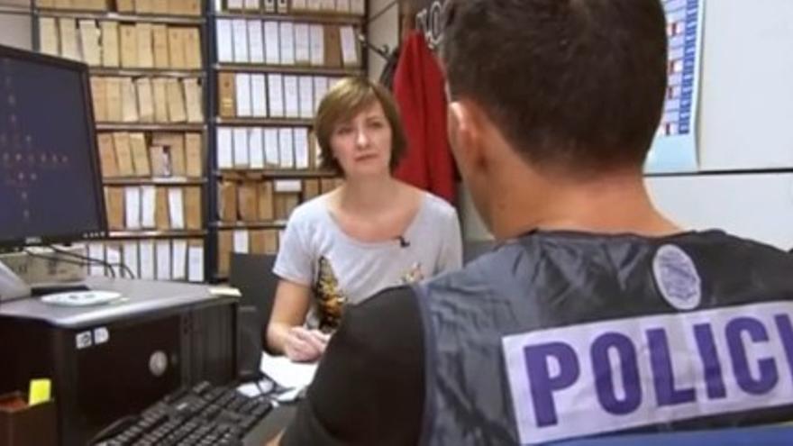 Captura de un reportaje sobre el caso 'timesharing' en la televisión noruega
