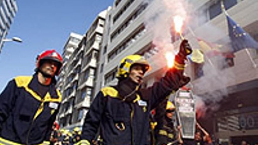 Los bomberos volvieron a liarla este miércoles.