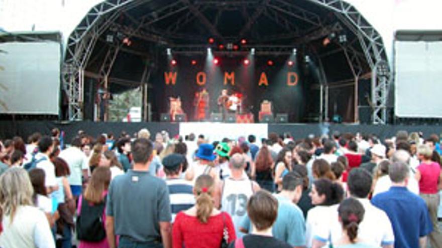 Escenario del Festival Womad.