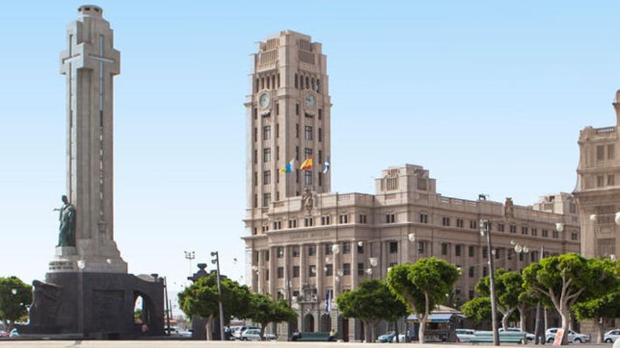 Sede principal del Cabildo de Tenerife, en la plaza de España de Santa Cruz
