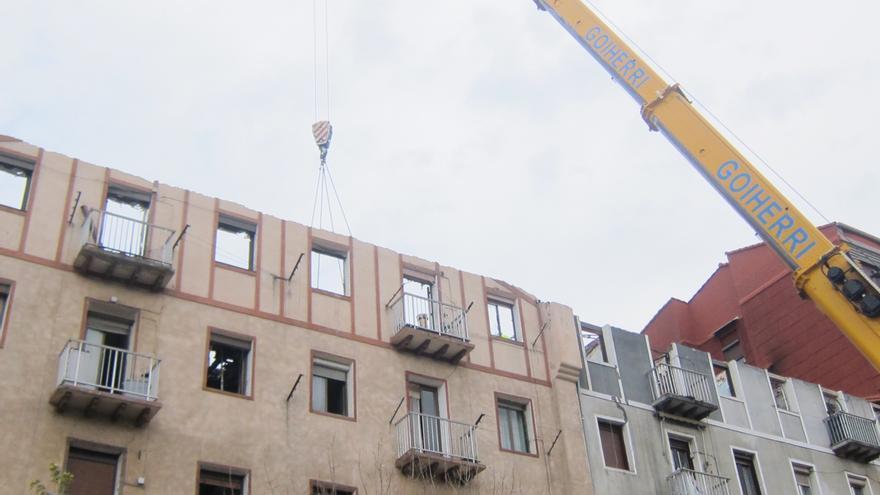 Gobierno vasco destina 150.00 euros a las 42 familias afectadas por el incendio de Pasaia (Guipúzcoa)