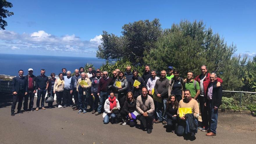 Encuentro de productores de plátanos de Canarias y Madeira.