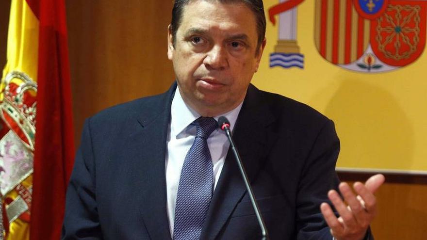 El ministro en funciones de Agricultura, Pesca y Alimentación, LuisPlanas.