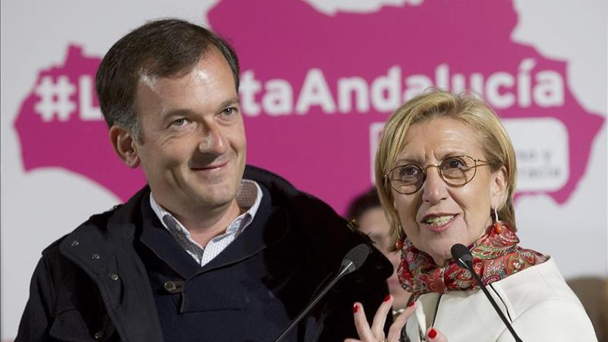 """Rosa Díez afirma que los ciudadanos """"nos van a colocar, con fuerza, en el Parlamento andaluz"""""""